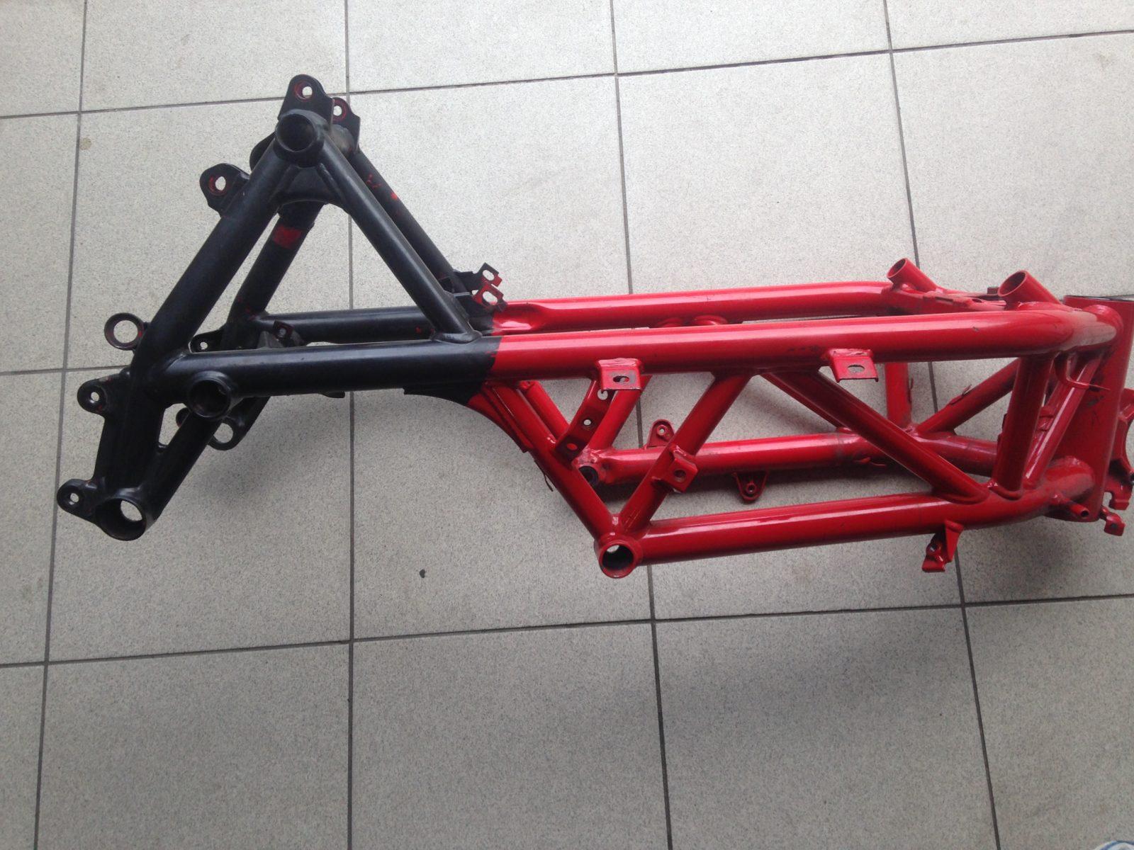 Ducati frame