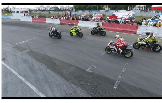 3-й этап ЧУ ШКМГ. Совместный заезд классов Superbike