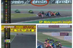 Догадайтесь, что вам показали в первом раунде#MotoGP2019 в#Катаре, или Гюльчатай, открой личико.