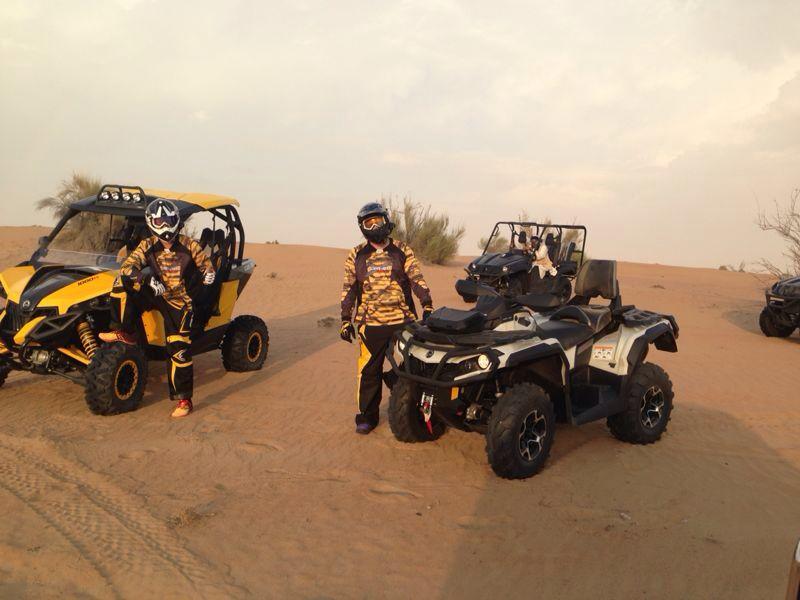 SP-Moto Dubai Training Trophy Raid
