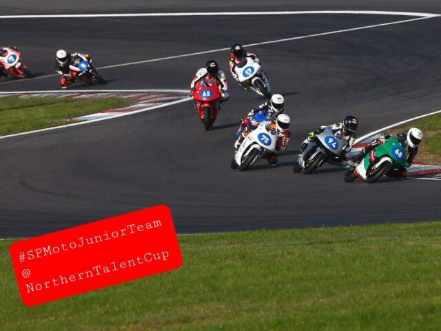 SPMotoJuniorTeam @ NorthernTalentCup. Lausitzring. Race2. Timur Kostin #17, Max Kovalev #3. 8/ 8
