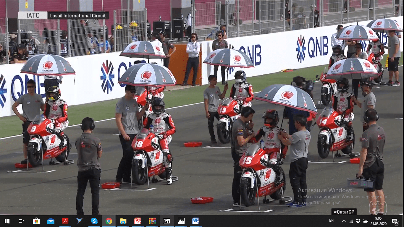 ASIA Talent Cup. 1-st Round 2020 Qatar, March 8. Race 2