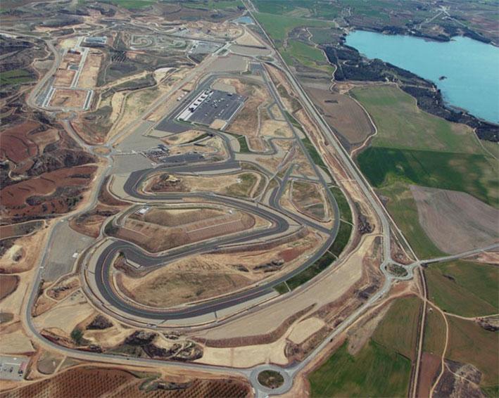 Circuito de Aragon (Испания)