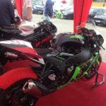 П Р Е С С - Р Е Л И З: Потеря управляемости байка Кости Писарева Kawasaki ZX 10R в гонке 3-го этапа ЧУ по ШКМГ