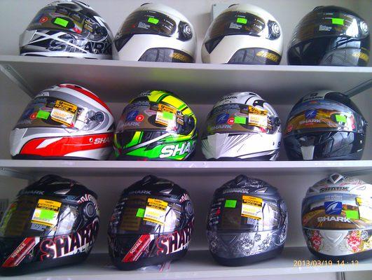 Широкий выбор шлемов топовых мировых брендов  в салоне SP-Moto и немного о Drudi Performance