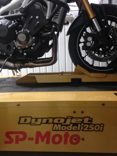 Yamaha MT-09. Диностенд