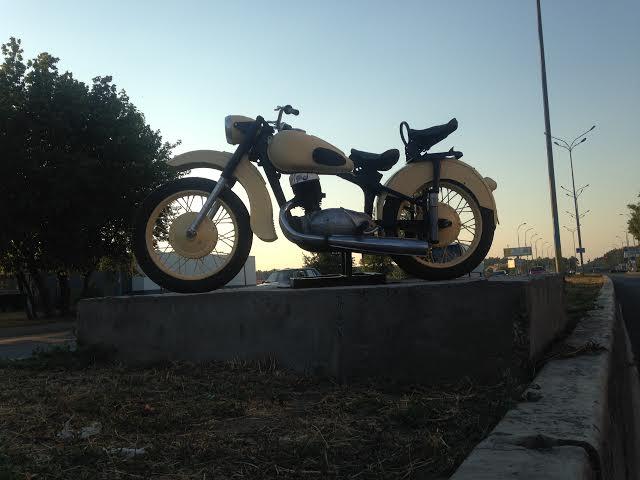 SP-Moto-Art. От подиумов к постаменту