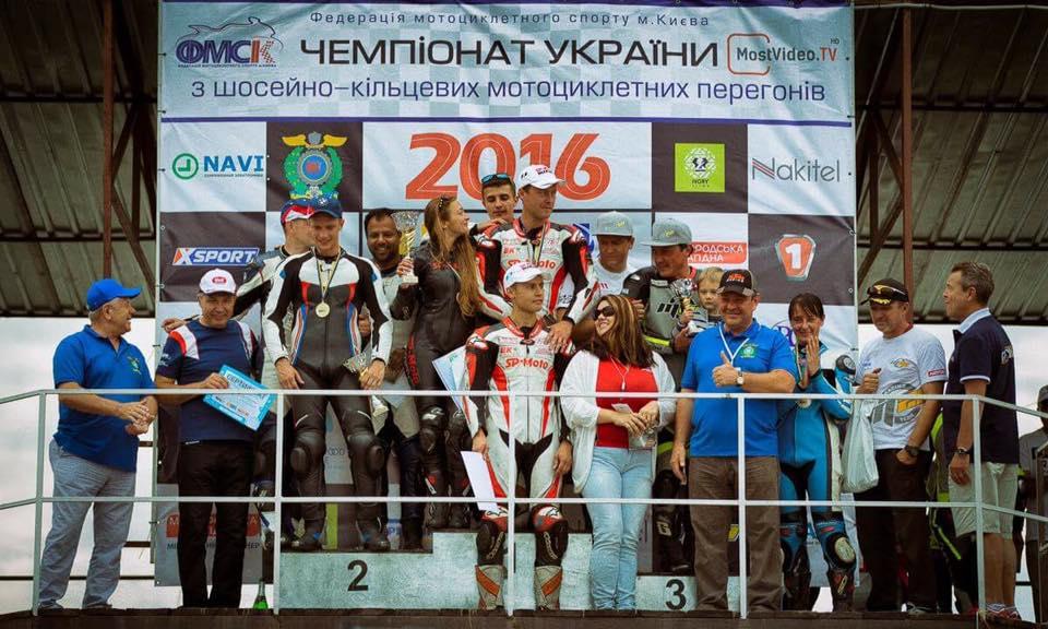 SP-Moto Racing :  место на подиуме привычно