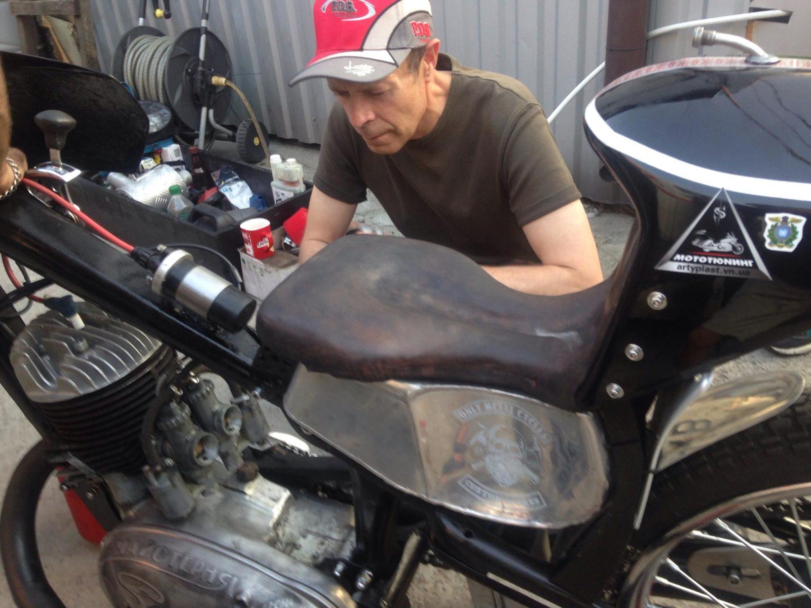 Любовь к мотоциклам