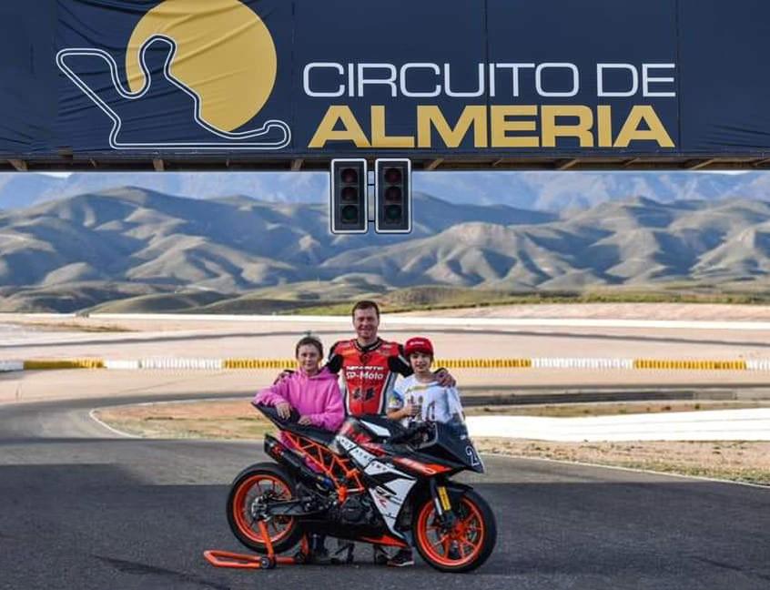 Гоночная Академия SP-Moto продолжит тренировочный процесс на европейских трассах Испании